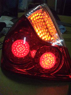 PY50 フーガテール LED加工
